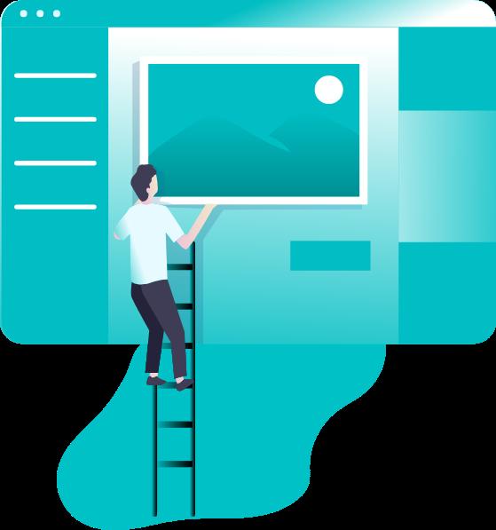 Créer site web design