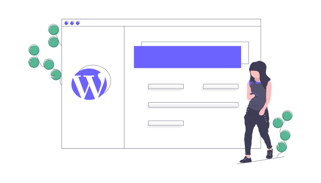 Créer site web wordpress